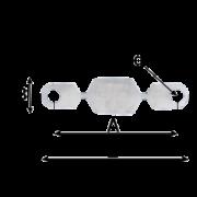 Плавкая вставка на 100А 220В к предохранителю ПР-2 60-100А 220В