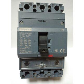 Автоматический выключатель 3VT1710-2DC36-0AA0 100А SIEMENS