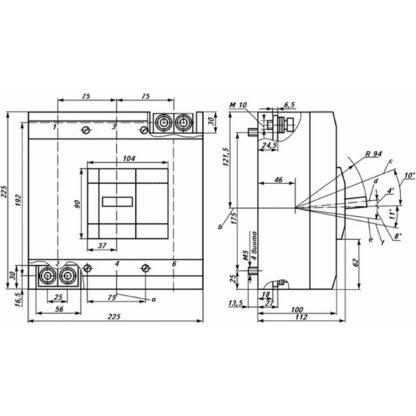 Схема автоматического выключателя ВА52-39