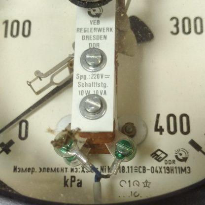 Манометр електроконтактний TGL (ЭКМ-1У) 0-400 kPa (0-4 кгс/см2)