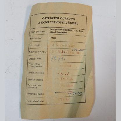 Тестер високої напруги на 25кВ - zkoušečka vn 25kV typa 013.000
