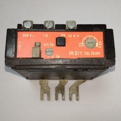 Тепловое реле IR2/1 25-40A TGL 29381