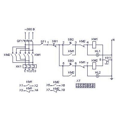 Схема ящика управления Я5410