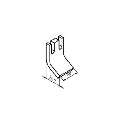 КПВ-605 нерухомий мідний контакт до контактора