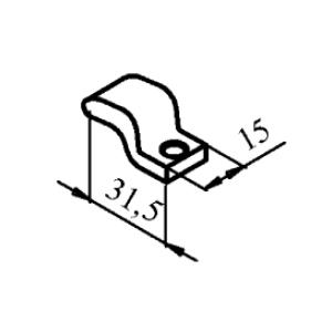 Схема контакта КТ6020 (КТ7020) и КТП6020 подвижного медного