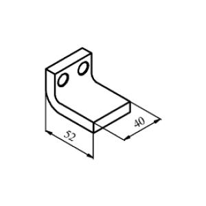 Схема контакта КТ6050 и КТП6050 неподвижного медного