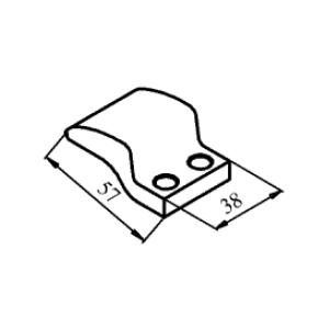 Схема контакта КТ6050 и КТП6050 подвижного медного
