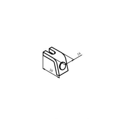 КТ-6013С контакт нерухомий з срібною напайкою до контактора