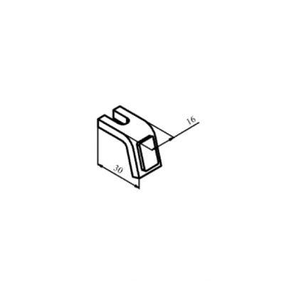 КТ-6023С контакт нерухомий з срібною напайкою до контактора