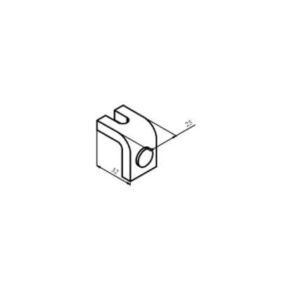 КТ-6033С контакт нерухомий з срібною напайкою до контактора