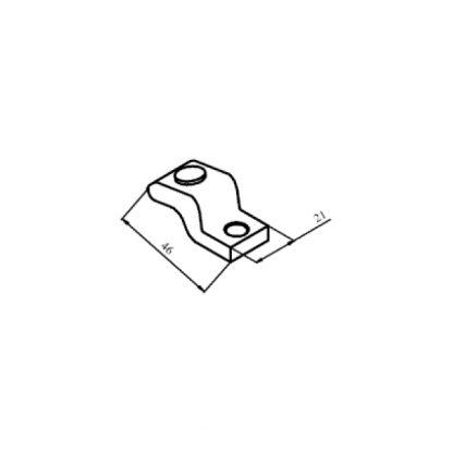 КТ-6033С контакт рухомий з срібною напайкою до контактора