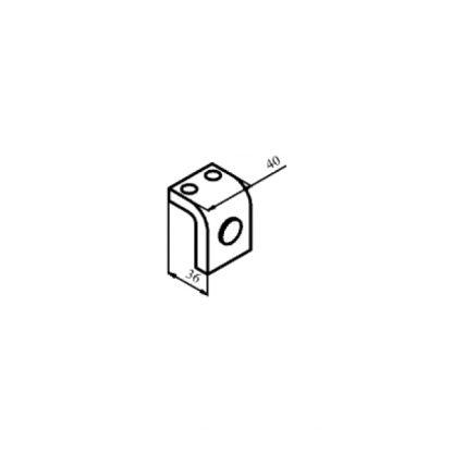 КТ-6053С контакт нерухомий з срібною напайкою до контактора