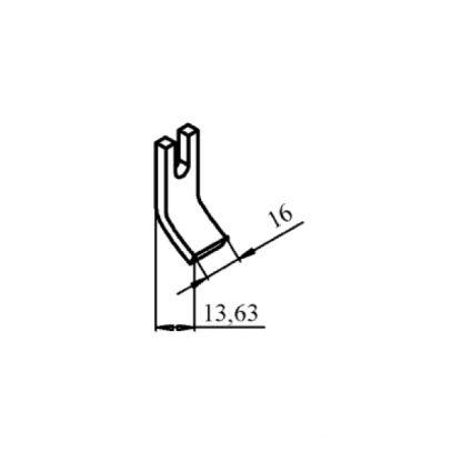 КТПВ-621 та КПВ-601 нерухомий мідний контакт до контактора