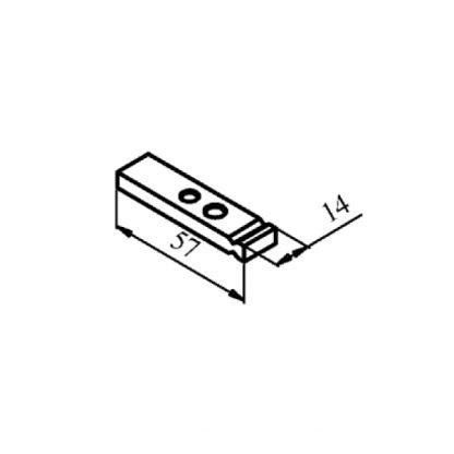 КТПВ-621 та КПВ-601 рухомий мідний контакт до контактора