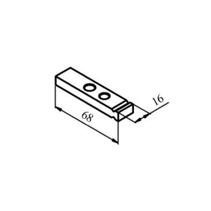 КТПВ-623 та КПВ-603 рухомий мідний контакт до контактора