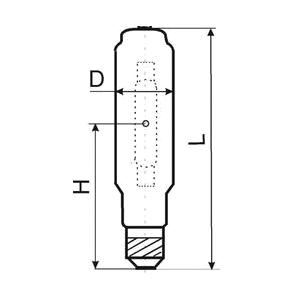 Технические характеристики лампы ДРИ1000-6 Е40