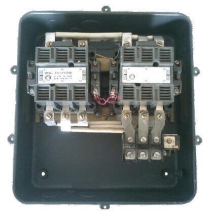 ПМА-4410 63А пускатель магнитный реверсивный с реле IP40