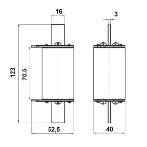 Схема предохранителя ПН-2-100