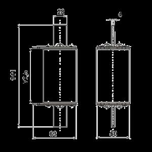 Схема предохранителя ПН-2-250
