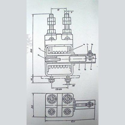 Схема реле максимального тока РЭО-401