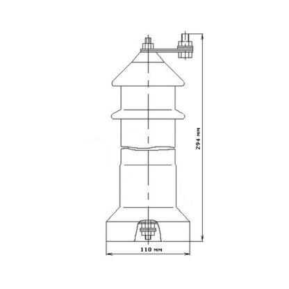 Схема разрядника РВО-6 У1