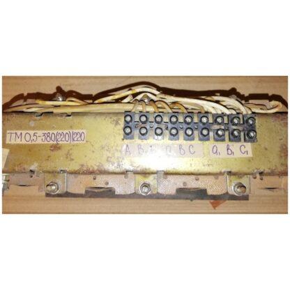 Трансформатор трехфазный многоцелевой ТМ0,5 380(220)/220
