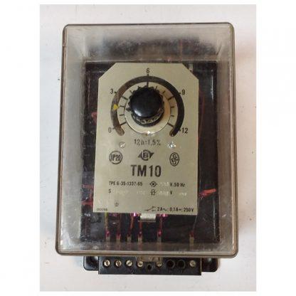 Реле часу ТМ10 0-12 годин 220В 50Гц